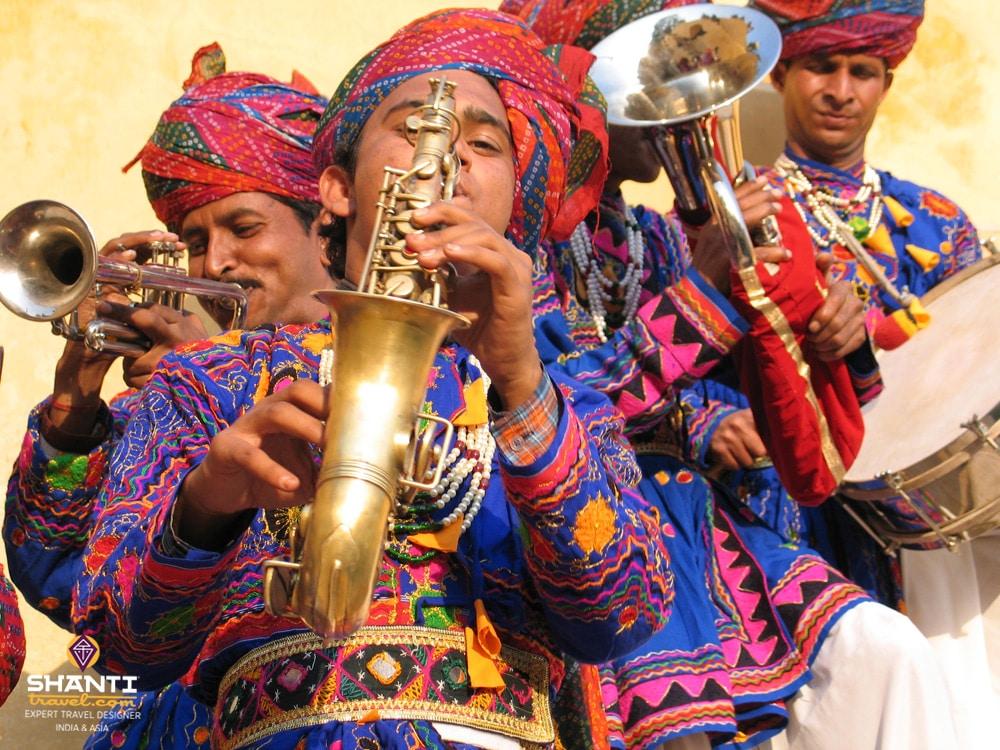 Musiciens indiens