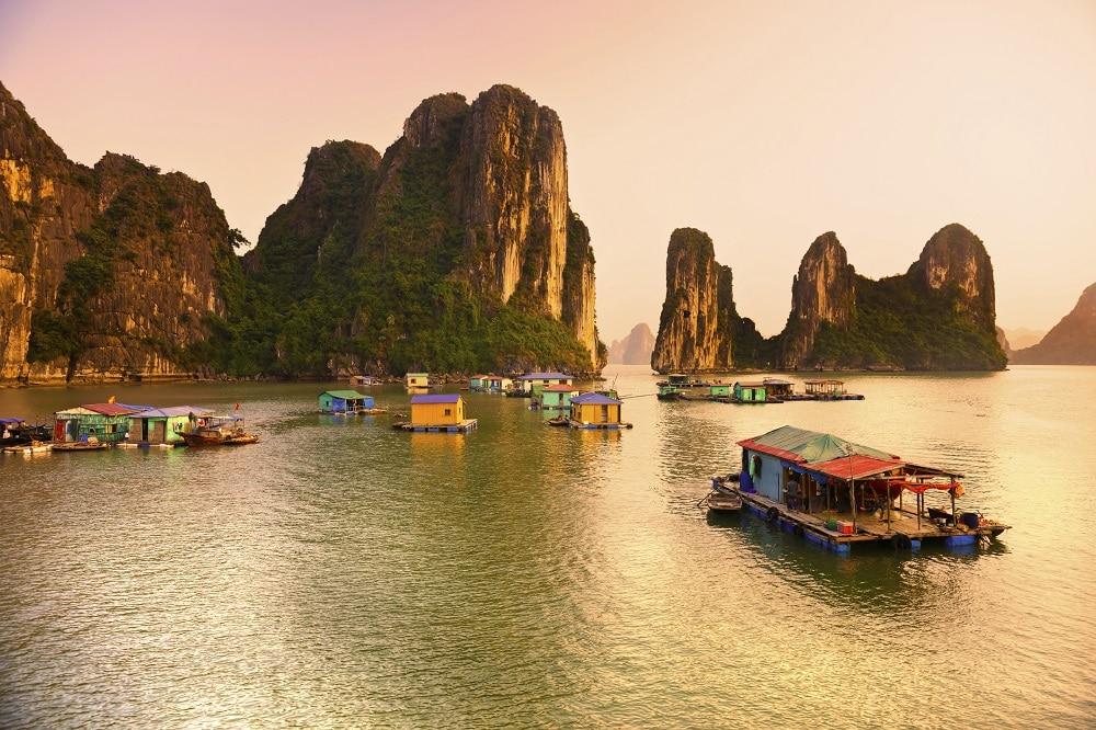 Halong Bay, Vietnam. Unesco World Heritage Site.