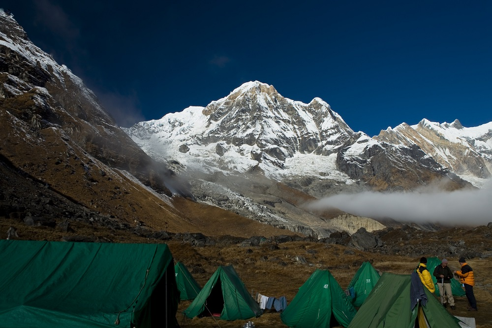 Annapurnas base camp