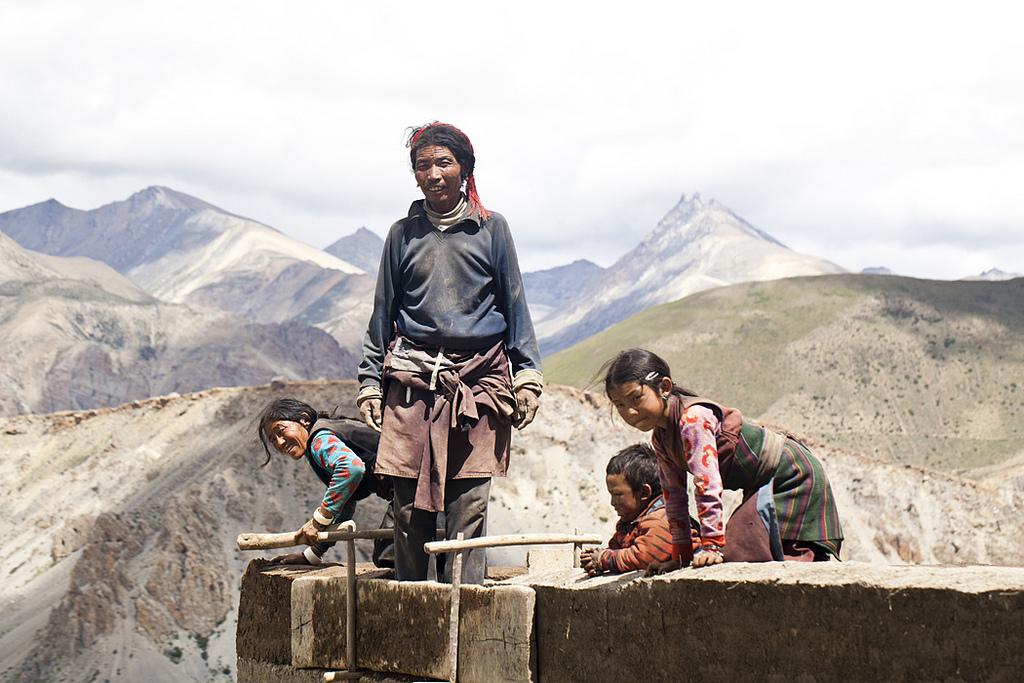 famille népal