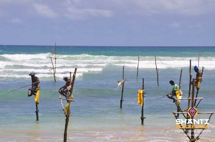 Pêcheurs Sri Lanka