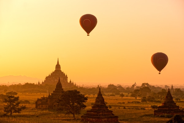 Birmanie_Bagan_At Sunset