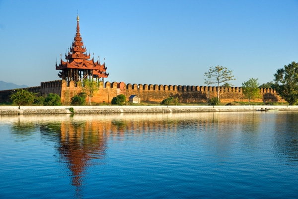Birmanie Mandalay Palace