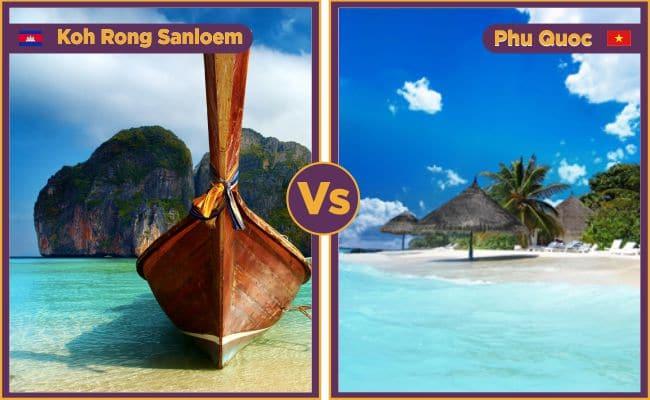 Phu Quoc vs Koh Rong Sanloem
