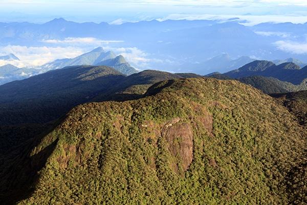 La montagne d'Adam's Peak - Sri Lanka