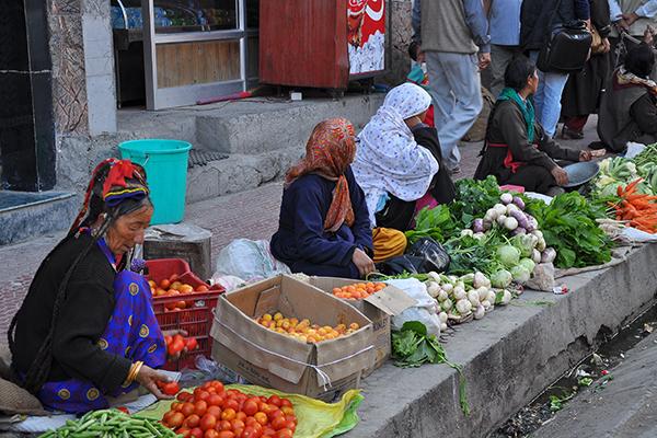 marché leh Nepal