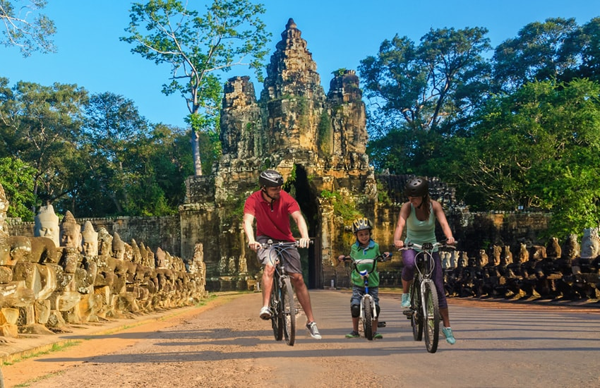 Family Holiday in Cambodia