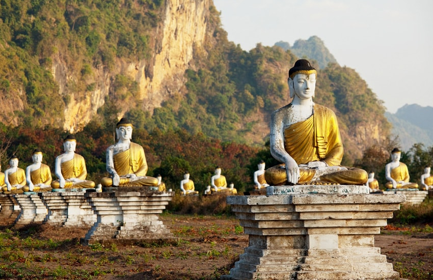 Image Trésors cachés du sud birman