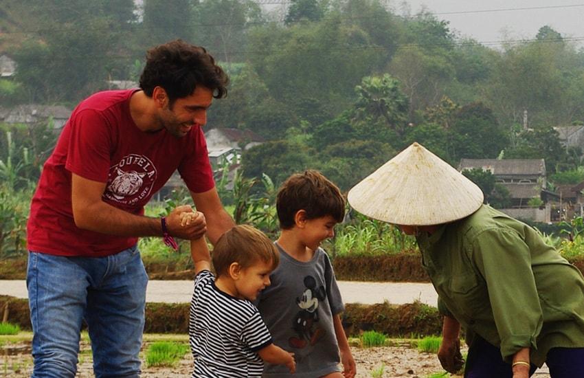 Vietnam mit Kindern