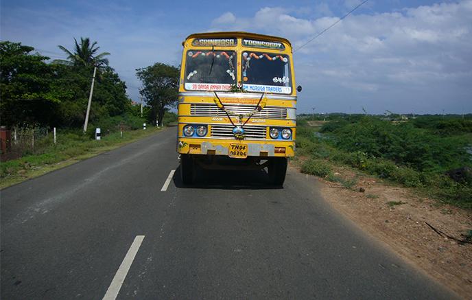Mahabalipuram - Chennai (Madras)
