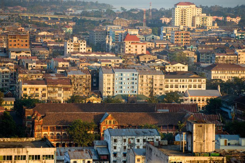 Inle - Heho - Yangon
