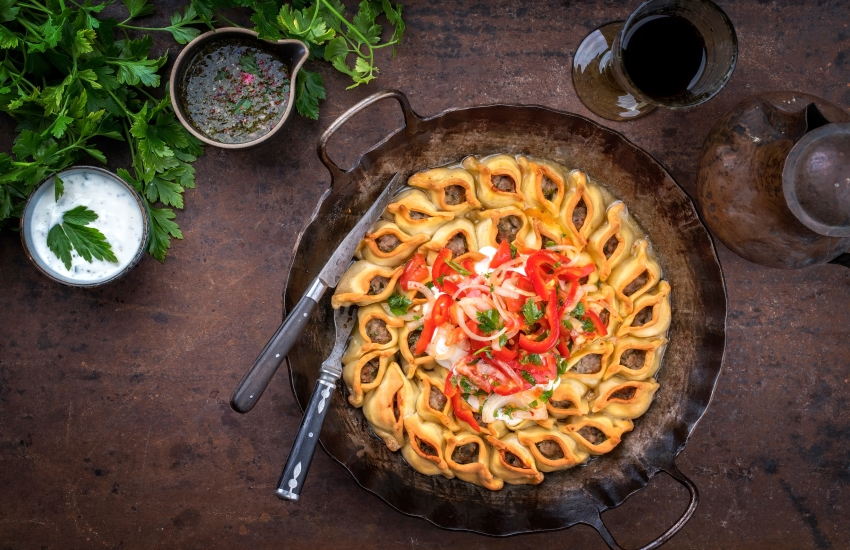 Voyage à pied : Gastronomie et partage en Arménie