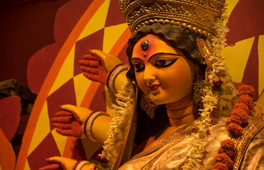 Durga Puja Festival with a small group