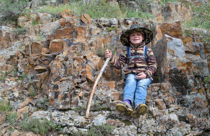 Voyage à pied : L\'Arménie en famille