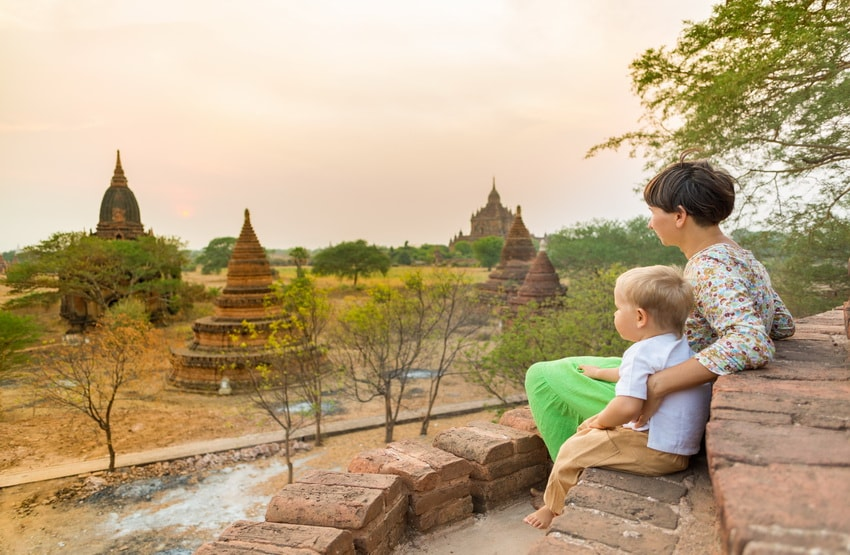 The most beautiful landscapes in Myanmar
