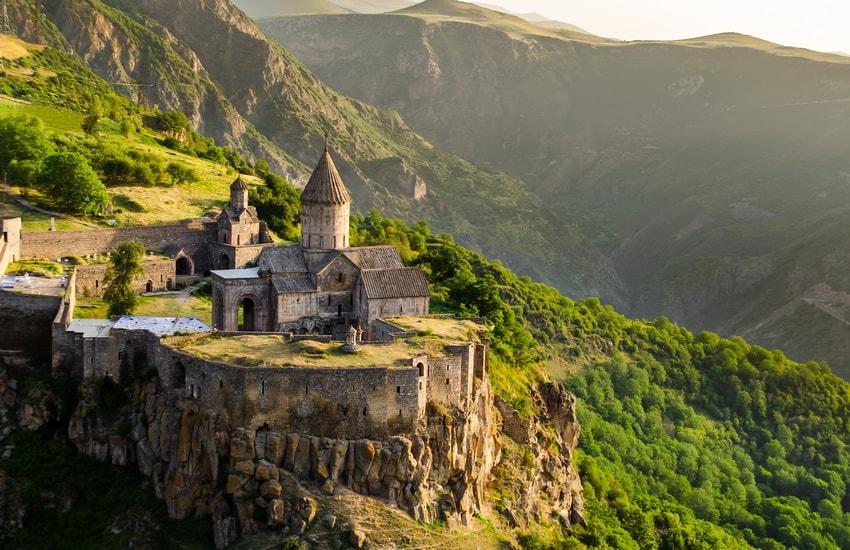 Avant de partir en Arménie
