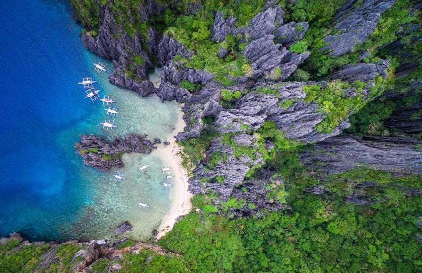Voyage à pied : Philippines : Escapade sur l\'île de Palawan