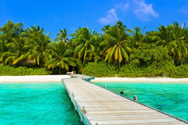 Nalaguraidhoo Insel
