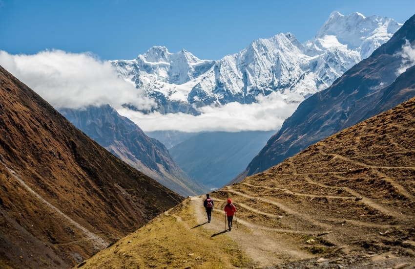 Nepal Wanderung zum Manaslu