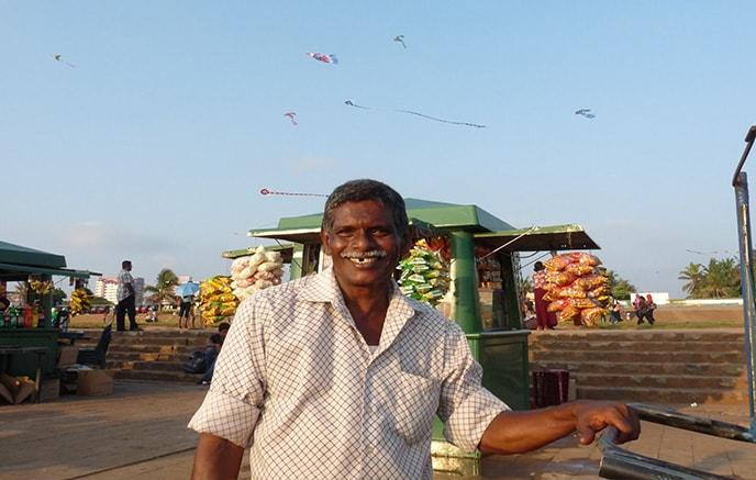 Ankunft am Flughafen in Colombo - Negombo