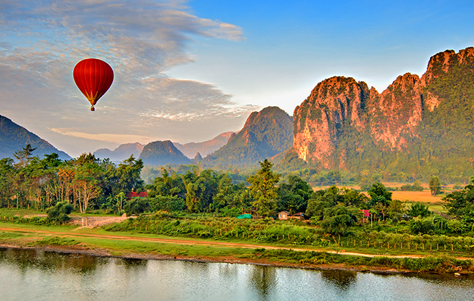 Vientiane – Vang Vieng