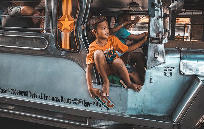 Arrivée à Manille