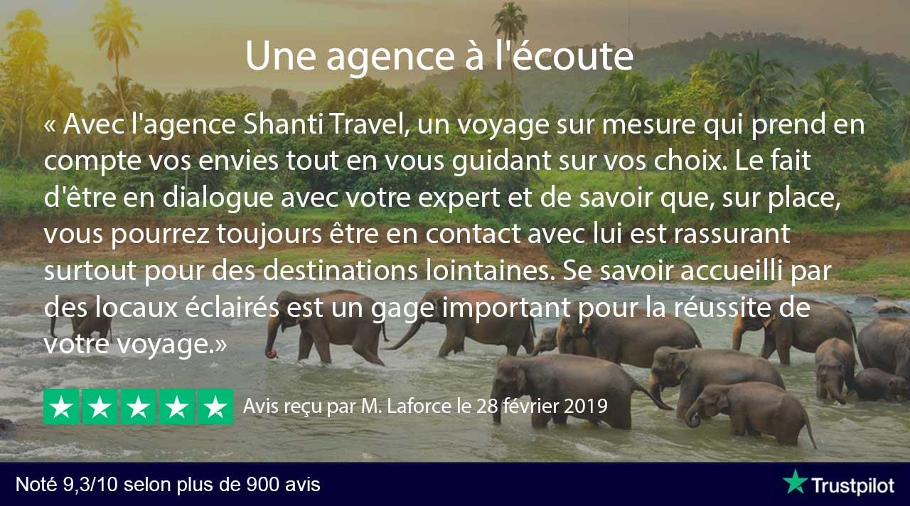 avis shanti travel