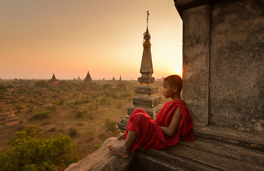 La Birmanie en été