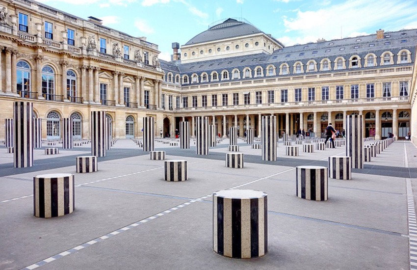 Palais-Royal - Marche initiatique