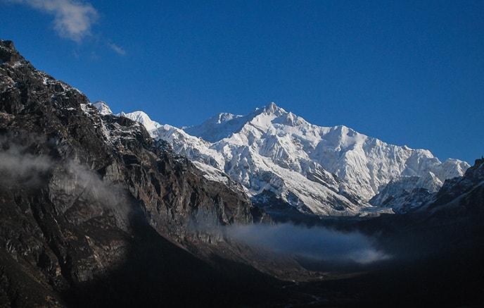 Image Trek au Sikkim vers le Kangchenjunga