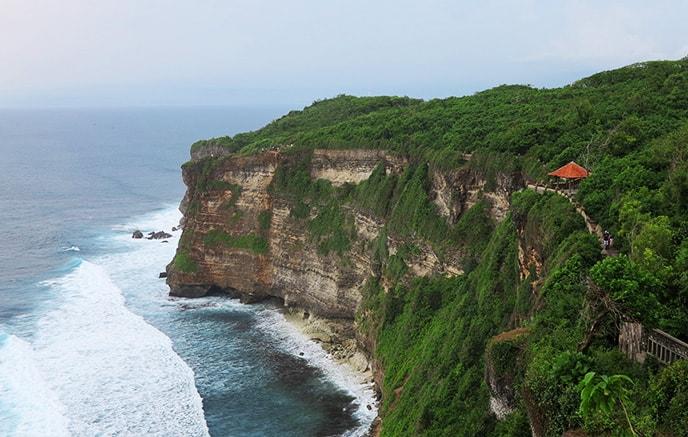 Image Zen attitude sur  l'île des dieux