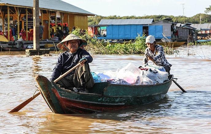 Kampong Chhnang – Lac Tonlé Sap