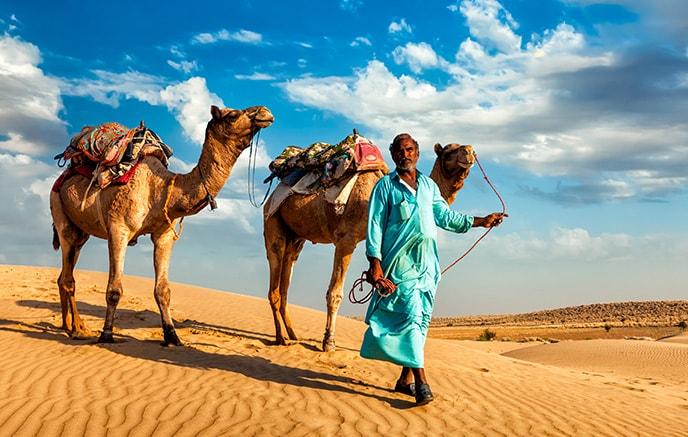 Jaisalmer - Thar Desert Camel Ride