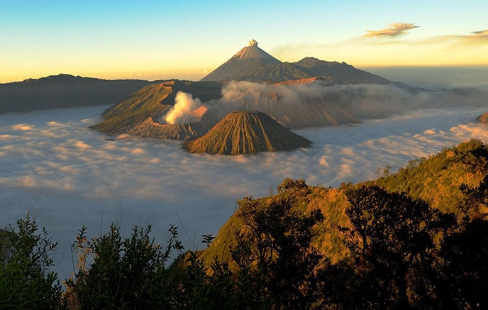 Solo – Volcan Bromo