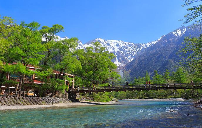 Image Rando dans les Alpes japonaises