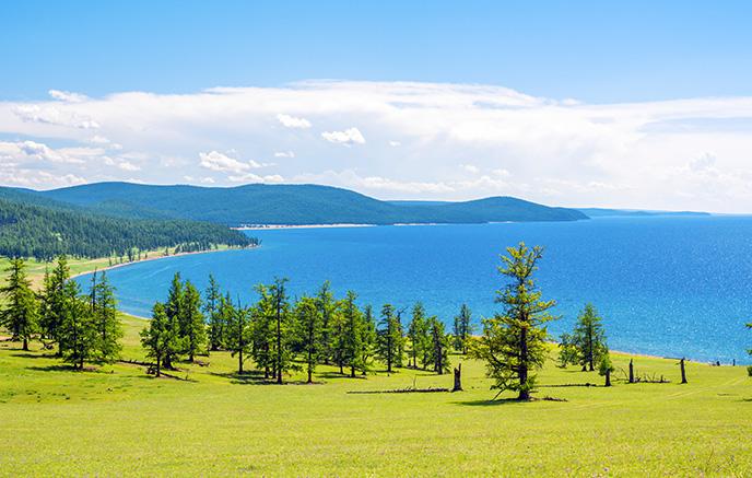 Randonnée au Lac Khuvsgul