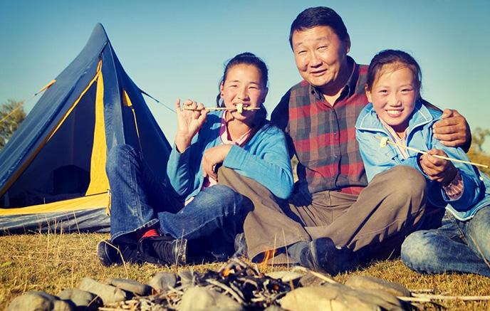 Campement familial - Boorgiin Oroi