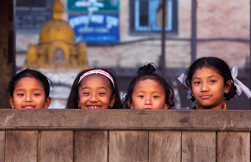 Le Népal en famille