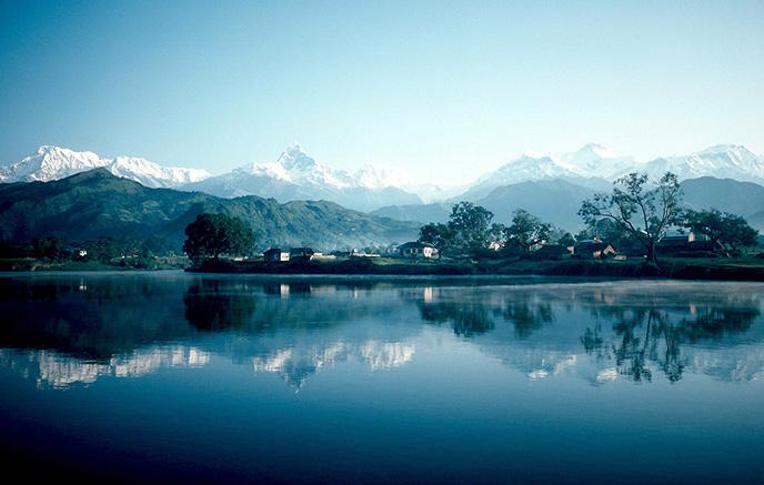 Image Sanctuaire des Annapurna