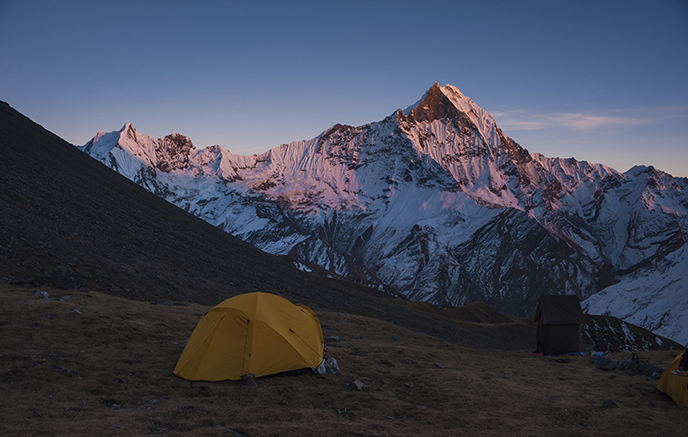 Camp de Base du Machhapuchhare - Camp de Base de l'Annapurna