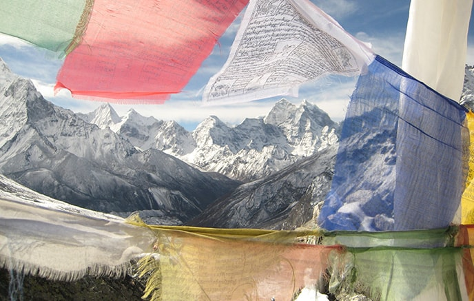 Image Gokyo et Everest