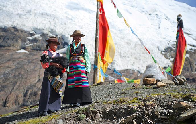 Katmandou - Lhassa (3500m)
