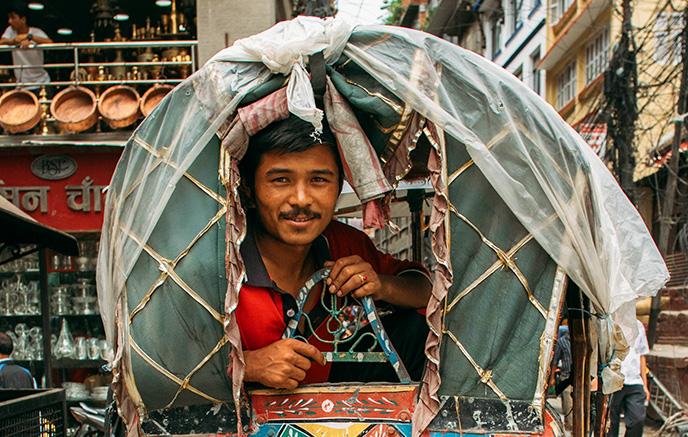 Arrivée à Kathmandu (ou Chengdu)