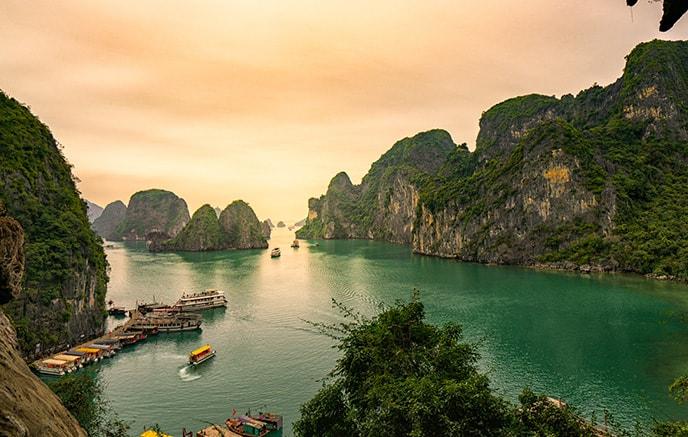 Baie d'Halong - Lao Cai